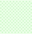 green checkered pattern with hearts seamless vector image vector image
