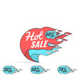 hot sale super weekend special offer vector image