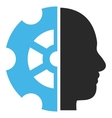 Intellect Flat Pictogram vector image