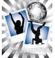 music and dance vector image vector image