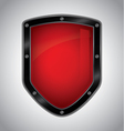 Security shield vector image vector image