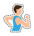sport or health icon image vector image