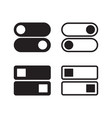 switch icon flat design vector image