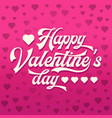 valentinea day card vector image vector image