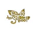 Back to School Sketchy Doodles vector image