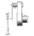 belt drive oiling apparatus vintage vector image vector image