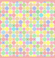 cute bright soft colorful seamless pattern vector image