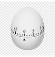 egg timer mockup realistic style