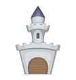 Medieval royal castle icon cartoon style vector image vector image