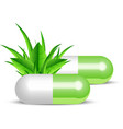 Natural pills vector | Price: 1 Credit (USD $1)