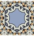 Ornamental frame border with copyspace Mandala vector image vector image