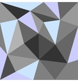 Pastel triangle blue grey and green background vector image vector image