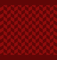 red herringbone check pattern vector image vector image