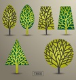 Trees Nature vector image vector image