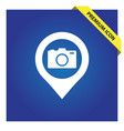 Camera with pin icon