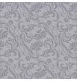 gray baroque pattern vector image