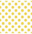 Light summer seamless pattern tiling Fond white vector image vector image