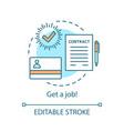 Recruitment concept icon