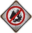 Street Warning Signs 16 vector image vector image