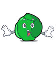 surprised brussels mascot cartoon style vector image vector image