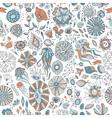 underwater sea creatures vector image