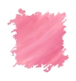 Watercolor deep pink vector image vector image