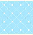 White Square Diamond Grid Light Blue Background vector image vector image