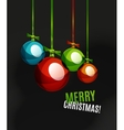 Christmas ball bauble New Year Concept vector image vector image