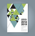 cover annual report 1143 vector image