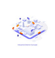 isometric for website vector image vector image