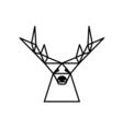 logo deer vector image vector image