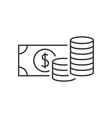 Money outline icon