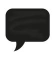 speech cloud black chalkboard vector image vector image