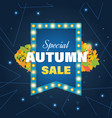 super sale banner on colorful background vector image vector image