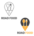 Concept of road food vector image