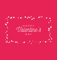 abstract love for your valentines day greeting vector image vector image