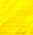 abstract striped diagonal yellow background vector image vector image