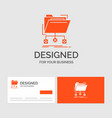 business logo template for backup data files vector image