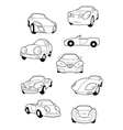 Collection of car vector image vector image