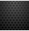 Dark concept circles technology background vector image vector image