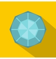 Diamond icon flat style vector image vector image