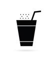 drink black vector image vector image