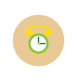 icon on the white backgrounds in circles vector image vector image