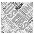 Symptoms of Post Word Cloud Concept vector image vector image