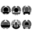 crest set vector image