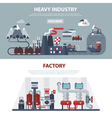 Energy And Industry Banners vector image vector image