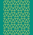 abstract pattern in arabian style vector image vector image