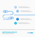 buzz communication interaction marketing wire vector image vector image