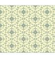 Circles Modern ornament pattern vector image