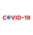 coronavirus 2019-ncov flat design wuhan virus web vector image